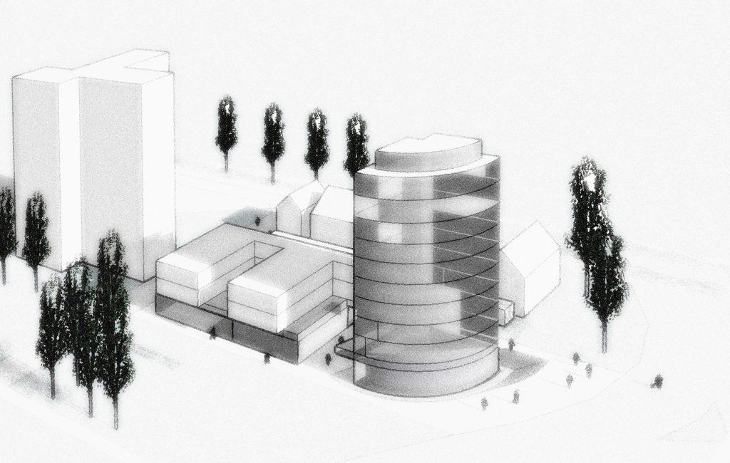 Erweiterung Gewerbe- Wohn- +Büro- Flächen